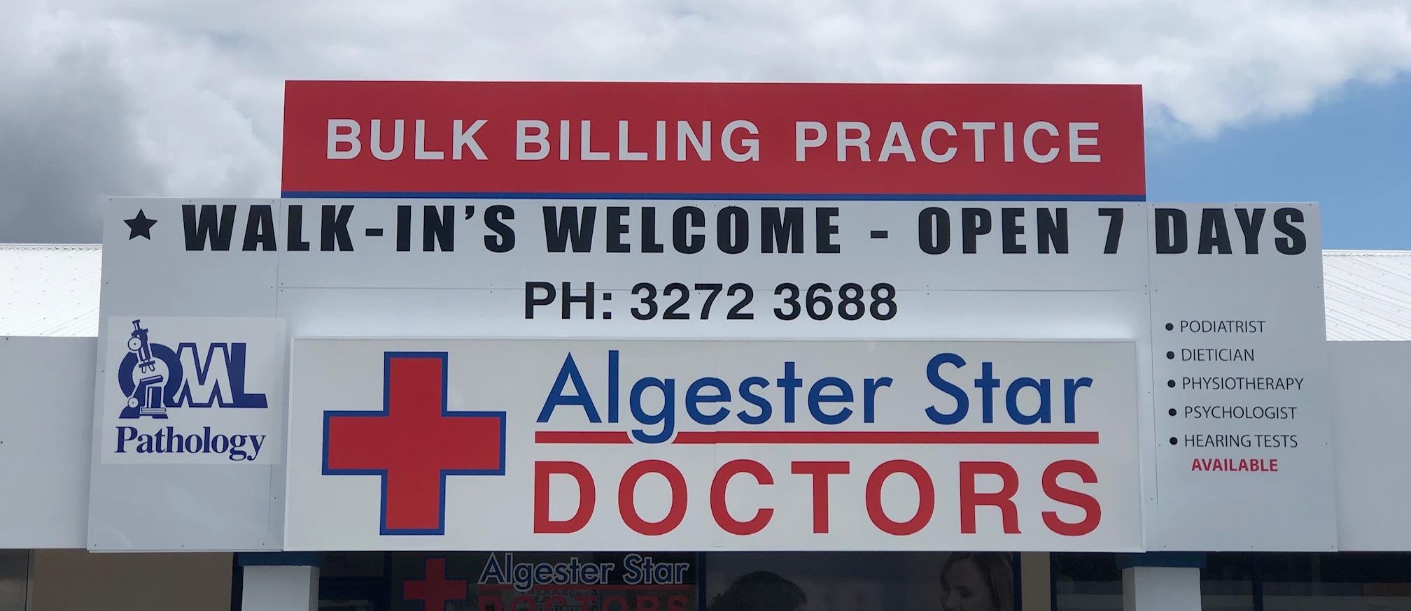 Bulk Billing Practice – Algester Star Doctors – Bulk Billing Practice